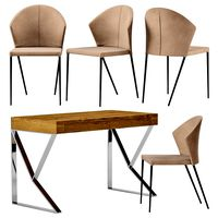 Table Roble Chair HY245 Angel Cerda