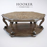 Hooker Furniture Solana Hexagonal Cocktail Table