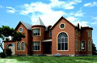2 story house plans +3D max file (House plans