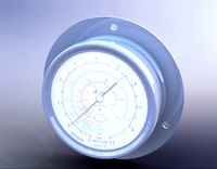 Manometer - compound pressure and vacuum gauge