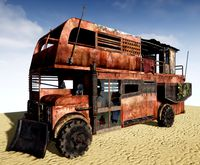 Post-apocalyptic Bus (AAA)