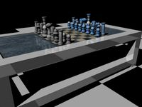 chessboard/coffee table
