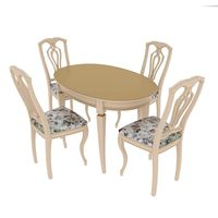 Dining set Alt-5-12 table and Sibarit-7 chair