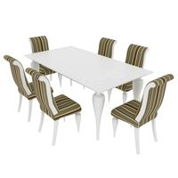 Dining set BetaMobili Ottocento italiano table and chairs