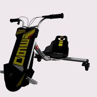 Razor Power Rider 360 Electric tricycle 3d