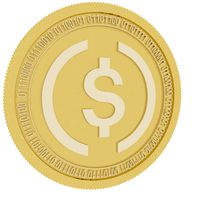 usd coin gold coin
