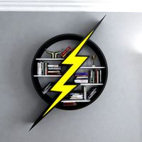 The Flash Bookcase