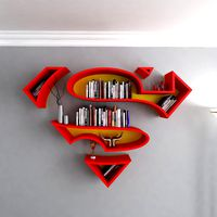Superman Bookcase