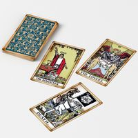 Old Tarot Cards - Major Arcana - Tinted