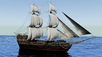 War Sailing Ship