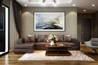 Apartment- Living room hall kichen scene 3D model 3D model