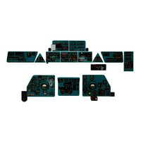 Mi-8MT Mi-17MT Panels Boards Russian