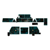 Mi-8MT Mi-17MT Panels Boards English