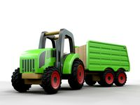 Tractor and Hopper trailer