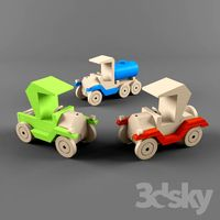 wooden toys-automobile