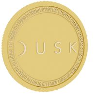 Dusk Network gold coin