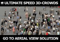 3D PEOPLE CROWDS - TOTAL PACK - ULTIMATE SPEED SOLUTION - CROWD