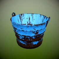 Rusty Metal Bucket