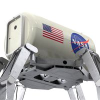 ATHLETE Lunar Rover Rigged for Maya