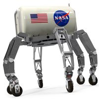 ATHLETE Lunar Rover Rigged for Cinema 4D