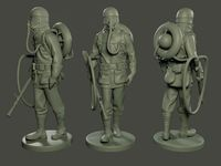 German soldier ww1 walk G5