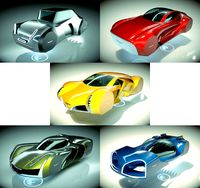 5 in 1 Cheap and Cool Hover Car Collection 08