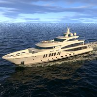 Amels 200 Yacht Dinamic Symulation