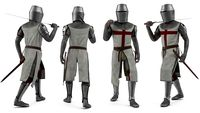 Knight Templar Walking Pose
