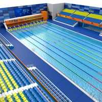 Olympic Swimming Pool FINA Standards