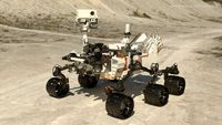 Curiosity Mars Rover Rigged