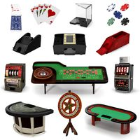 Casino Equipment Collection 2