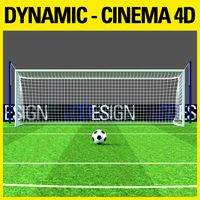 Dynamics Simulation - Football Goal & Net