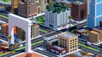 Low poly American Dream City