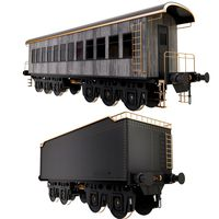 Railroad Wagons Collection