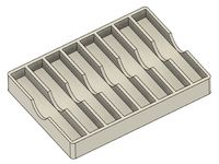 Brazed Carbide Lathe Tool Holder (x8)