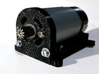 DC-motor RS-550 with mount
