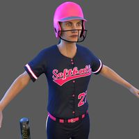 Softball Batter 1