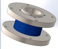 Flange to flange through hole torque sensor FTN