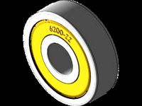 6200-ZZ Shielded Ball Bearing