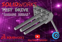SolidWorks Tutorial Indonesia #063 - Test Drive 'Rahang Bebas' (Preview)