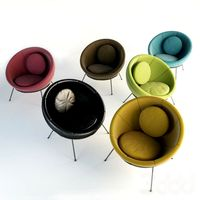 Lina Bo Bardi Bowl Chair Set