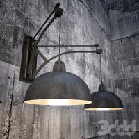 Retro Industrial Sconce