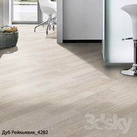 Parquet 2x types of Kronospan Oak Reykjavik Rough oak