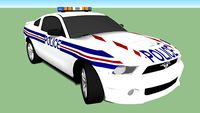 French Police Ford Mustang