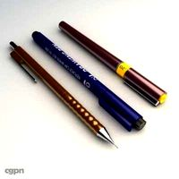 drawing writing tool3d model