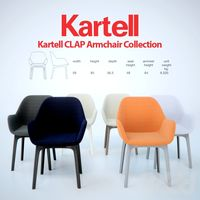 Kartell_CLAP_Armchair_Collection