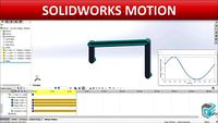 SOLIDWORKS Motion - Four Bar Linkage