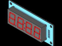 4 Digit LED 0.56 Display TM1637