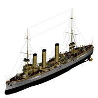 Small Cruiser Modified Koenigsberg Class Imperial German Navy