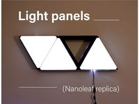 Light panels - nanoleaf replica - wall panel by Akyelle